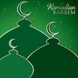"""""""Ramadan Kareem"""" (Generous Ramadan) card in vector format"""