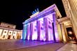 Fototapete Tourismus - Beleuchtung - Öffentlicher Platz