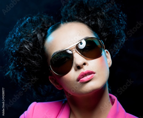 Girl in the sunglasses