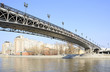 Patriarchal bridge over the Moscow river.