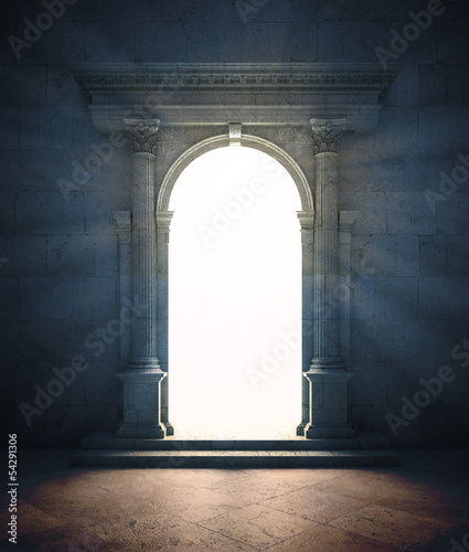Mysterious portal