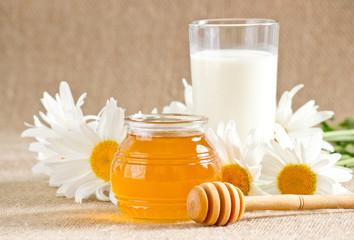 Honey with milk