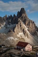 rifugio Locatelli e monte Paterno (Dolomiti)