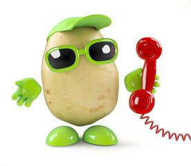 Potato answers every call
