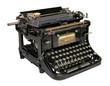 alte antike Schreibmaschine, typewriter