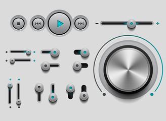 Web User Interface Set