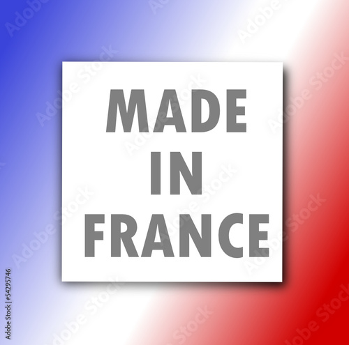 Etiquette : Made in France