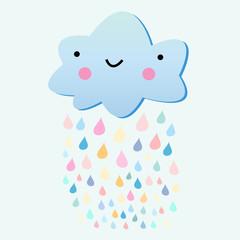 fun with a rain cloud