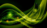 Fototapety green abstract background