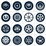 Wheels. Rims vector collection.