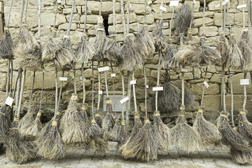 Exhibition of brooms