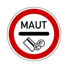 verkehrszeichen v2 maut II