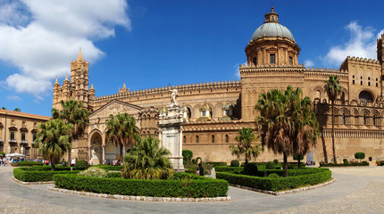 Palermo Cathedral, Sicily, Italy,