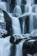 Fototapeten,cascade,klippen,flüsschen,absteigend