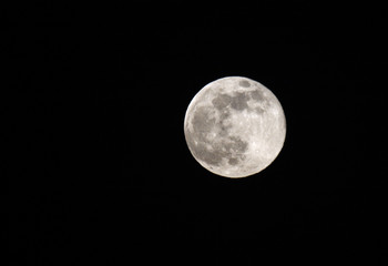 Supermoon at Bahrain sky on June 23, 2013