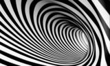 Fototapeta Abstrakcja ze spiralą - tunel