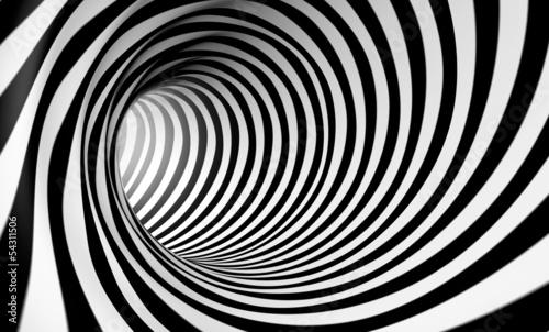abstrakter-hintergrund-der-spirale-3d-in-schwarzweiss