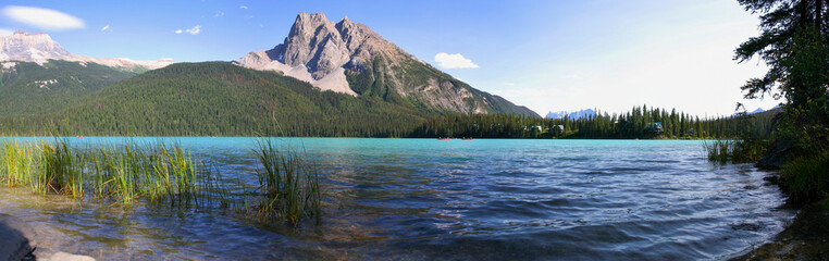 Lac emerald canada rocheuse