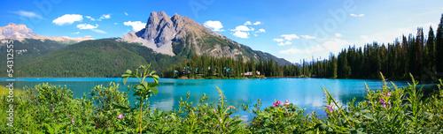 Panorama lac emerald, canada - 54312555
