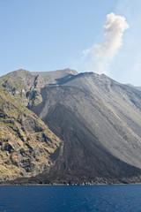 sciara del fuoco di Stromboli Isole Eolie
