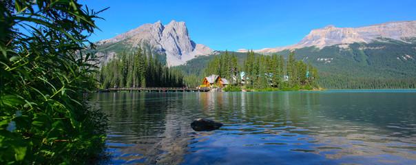 Panorama lac emerald