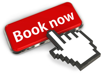 Book Now button 3d