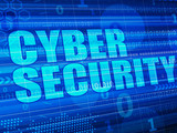 Cyber Security Concept digital background