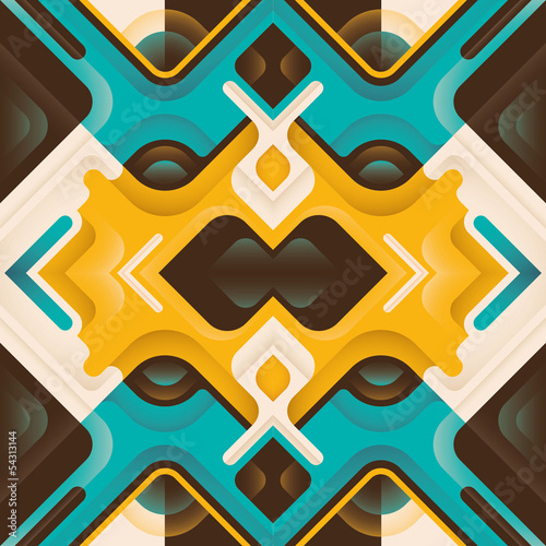 Stylized abstraction.