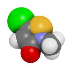 Methylchloroisothiazolinone preservative molecule