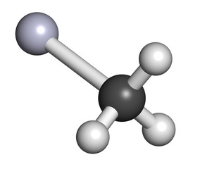 Methylmercury cation environmental pollutant, chemical structure