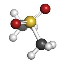 Methylsulfonylmethane (MSM) dietary supplement molecule
