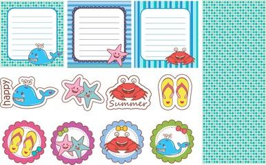 Scrapbook Summer - férias