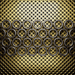 golden and silver background