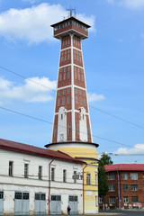 Rybinsk, Russia. Old fire tower