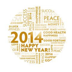 2014 Jahreswechsel, Neujahr