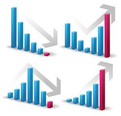 グラフ・売上・パターン