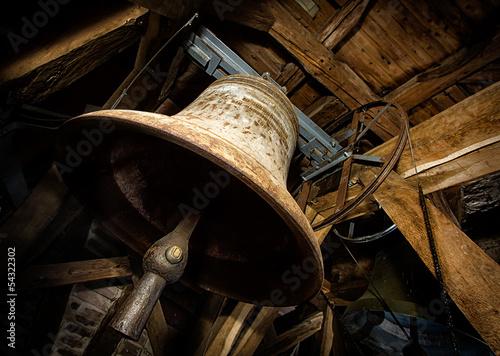 Zdjęcia na płótnie, fototapety, obrazy : Alte Kirchenglocke