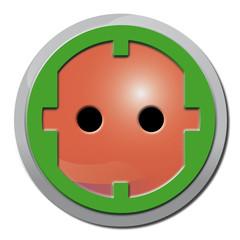 Steckdose, Stecker, Strom, Energie, Symbol,