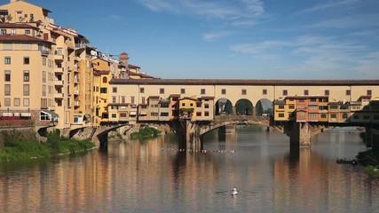 Ponte Vecchio bridge. Florence, Italy