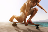 Fototapety Longboarding
