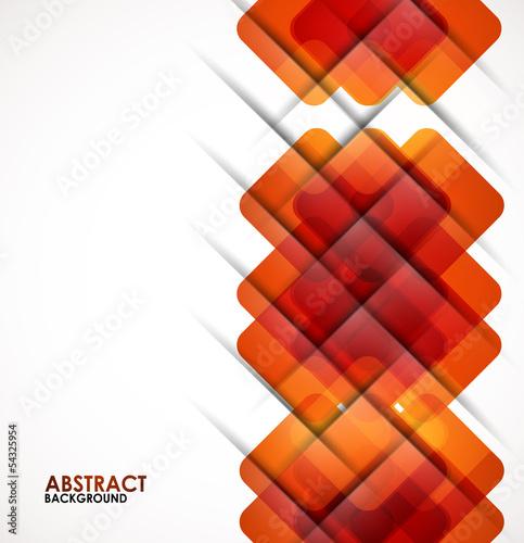 Geometrical squares modern template