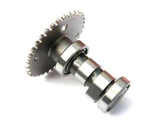 crank on a white background