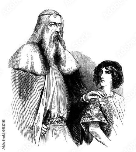 Medieval Aristocracy - Father & Son_1844