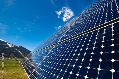 Photovoltaik Anlage Solarzelle Energie