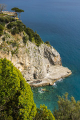 Famous Amalfi Coast