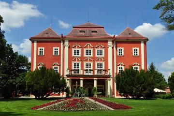 Detenice castle in Czech republic