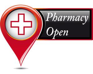 Pharmacy open pointer