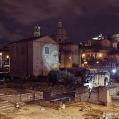 Рим, руины