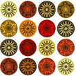 Ethnic motifs pattern
