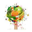 decorative tree vegetable